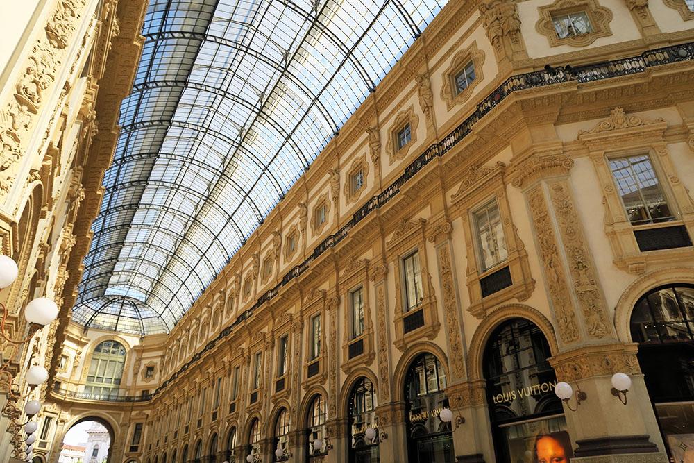 La galerie Vittorio Emmanuele II