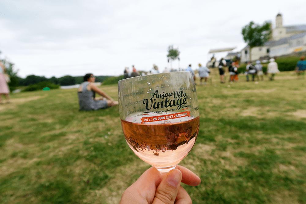 Vin rosé Saumur