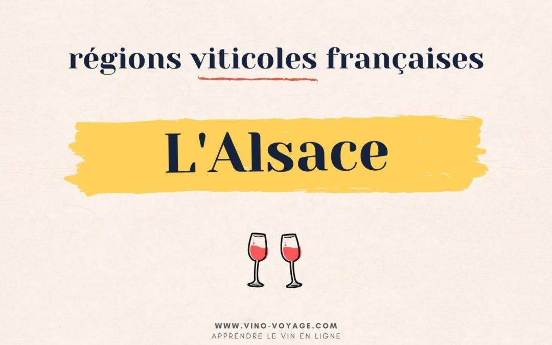 Région viticole française : le vignoble d'Alsace