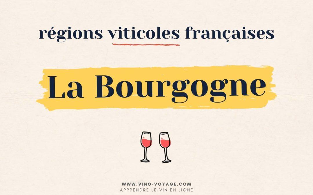 Région viticole française : le vignoble de Bourgogne