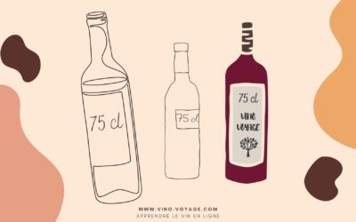 Pourquoi les bouteilles de vin font-elles 75 cl ?