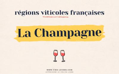 Région viticole française : le vignoble de la Champagne