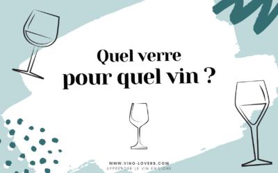 Comment bien choisir ses verres à vin ?